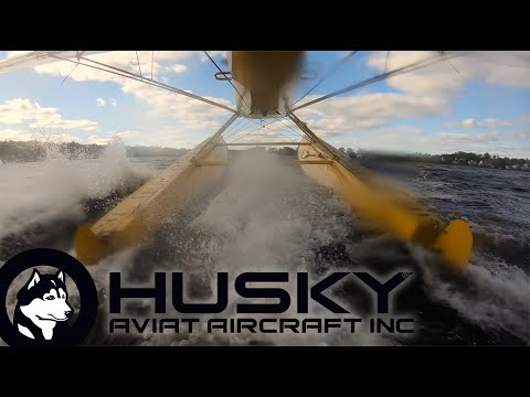 PK Floats  and the Husky A-1C 180HP