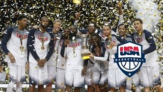 Team USA Gold Medal Game Full Highlights vs Serbia 2014.9.14 - All 129 Pts, WORLD CHAMPIONS!!!