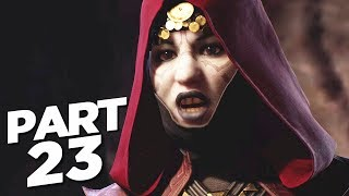STAR WARS JEDI FALLEN ORDER Walkthrough Gameplay Part 23 - NIGHTSISTER (FULL GAME)
