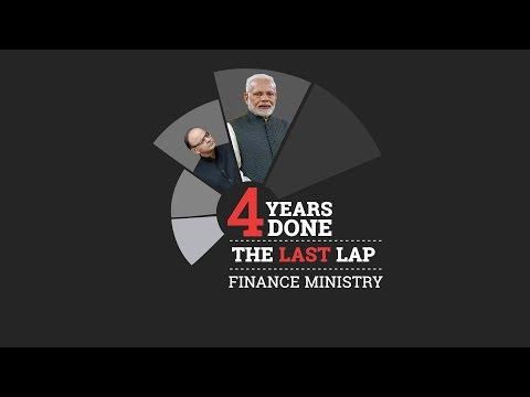 4 years of Modi govt: Finance Ministry