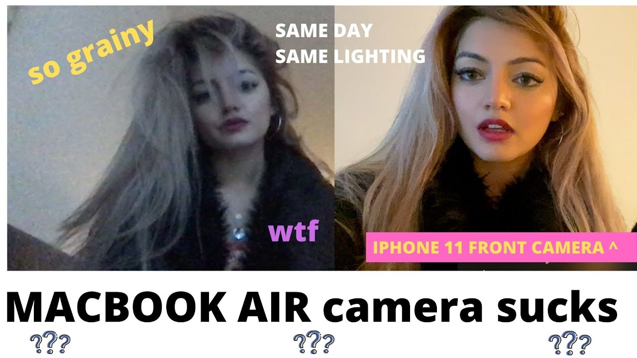 Macbook Camera Sucks And Is Super Grainy Youtube