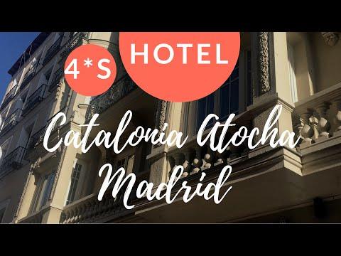 Madrid Hotel Catalonia Atocha /// 4*'s con super ubicación en el corazón de Madrid y Atocha