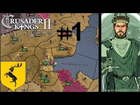 CK2 Game Of Thrones | Renly Barartheon #1 The Stag & Rose!
