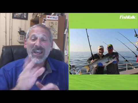 2020 Maryland Opening Day Striped Bass Trolling Tips   LIVE With Lenny Rudow