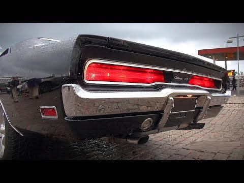 572 HEMI Charger 500 Brutal Sound and More!! - Helsinki Cruising Night 7/2019