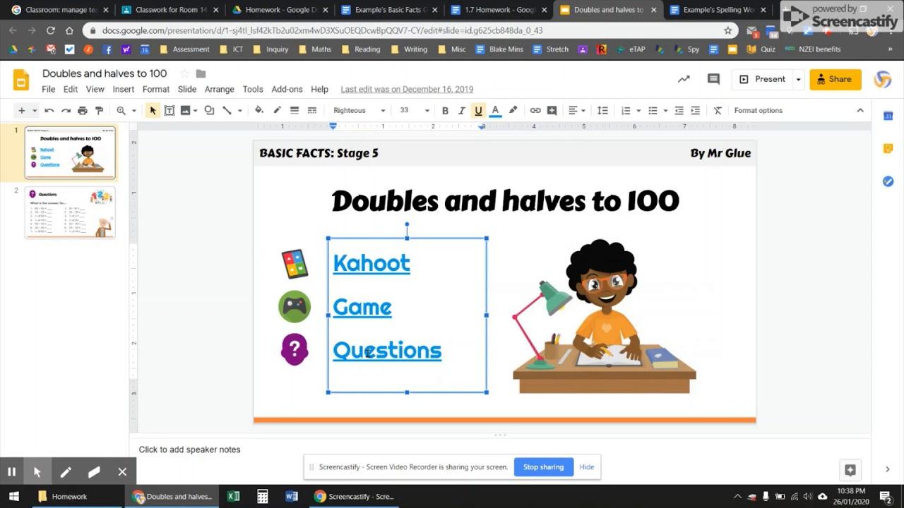 Videos for homework help