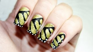 Monarch Butterfly Wing Nail Art / Дизайн Ногтей (роспись акриловыми красками) Крылья Бабочки(LIKE ☆ COMMENT ☆ SUBSCRIBE ☆ Hi everyone! This Easy Monarch Butterfly Wing Nail Art Designs for Beginners is for you! Hope you enjoy this nail art ..., 2015-05-23T10:33:41.000Z)