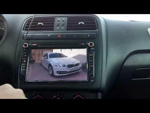 Восьмидюймовая магнитола с Aliexpress для VW