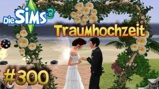 Die Sims 3 Traumhochzeit - Patrick und Kathi sagen: Ja! [Part 300/Gewinnspiel/Wildes Studentenleben]