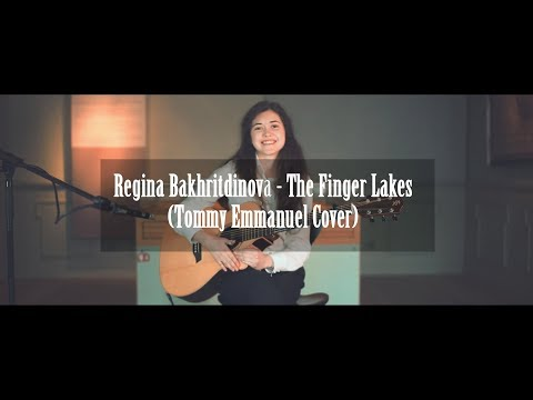 Tommy Emmanuel - The Finger Lakes (Arranged by Regina Bakhritdinova)