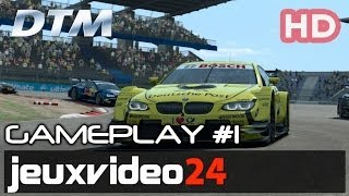 DTM Experience - Hockenheim Gameplay #1 HD (PC)
