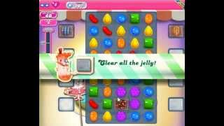 Candy Crush Saga Level 207 - 1 Star - no boosters