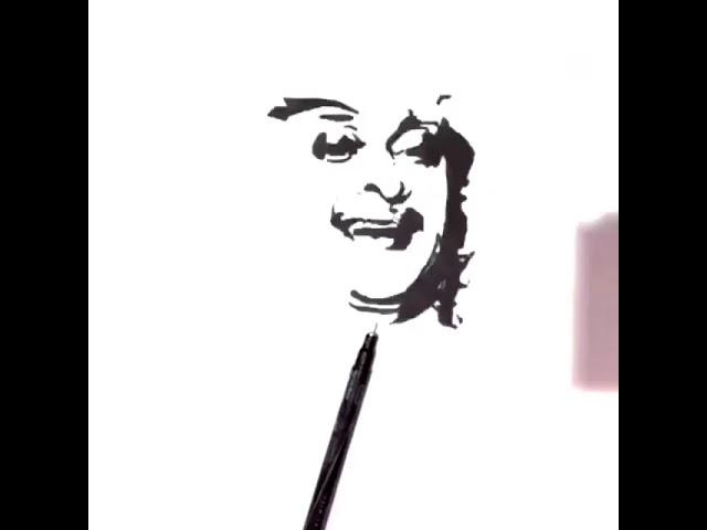 رسمتي للفنان عبدالمجيد عبدالله بوب ارت Youtube