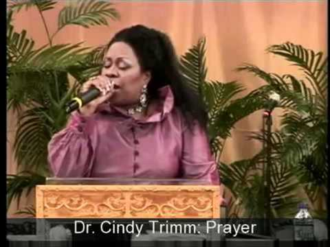DR. CINDY TRIMM- POWERFUL HEALING PRAYER