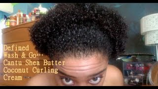 In Love: Cantu Shea Butter Coconut Curling Cream!