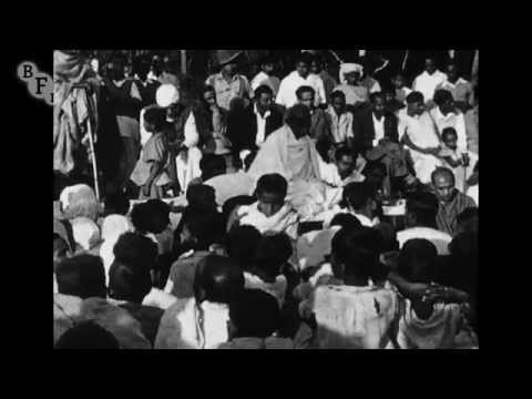 Mahatma Gandhi: Noa Khali March (1947) - extract | BFI National Archive