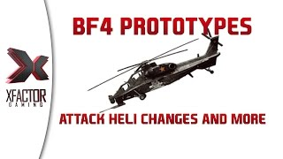 Battlefield 4 Prototypes - New Chinese attack helicopter and infantry bullet release point