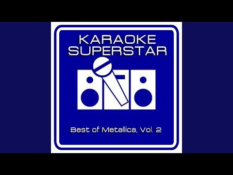 Fade To Black (Karaoke Version) (Originally Performed By Metallica)