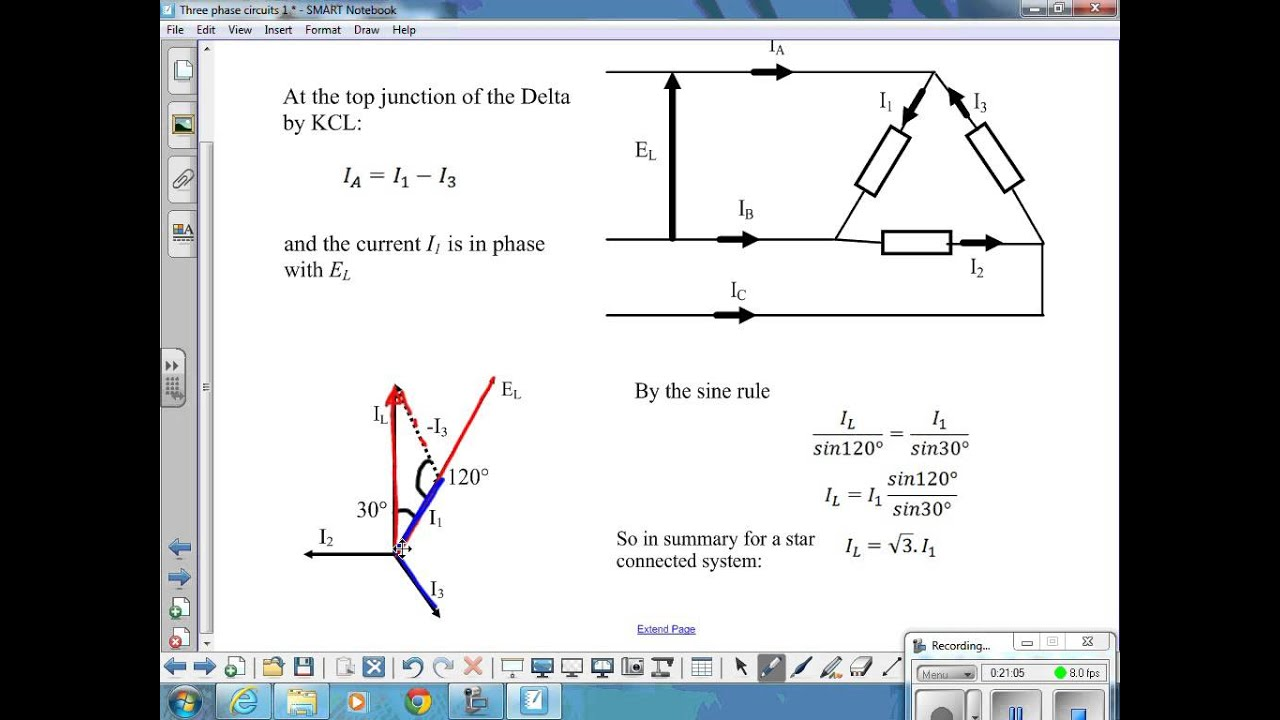 March 6th Week 4 Line and phase voltage in 3 phase systems