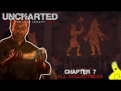 Uncharted The Lost Legacy: Chap 7/The Lost Legacy (All Collectibles) - HTG