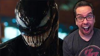 Venom OFFICIAL Trailer Reaction