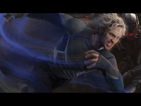 Download All QUICKSILVER running scenes- Avengers:age of ultron (2015) (HINDI)