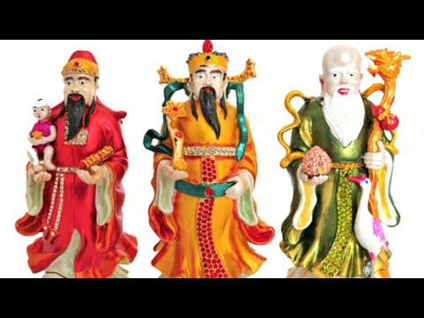 Fengshui | FUK LUK SAU | Gods Of Health, Wealth And Happiness | Placement | Direction