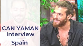 Can Yaman ❖ Mediaset Spain Interview  ❖ Complete ❖ English ❖  2019