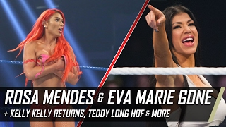 Rosa Mendes & Eva Marie Leaving WWE, Kelly Kelly Returns & More (Smack Talk 272 Hot Tags)