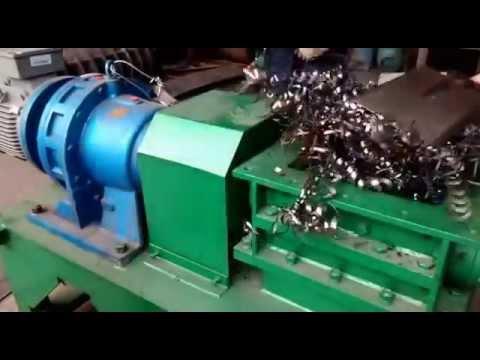 Watch on scrap metal shredding