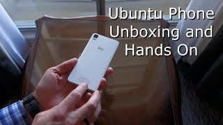 Ubuntu Phone Unboxing and Hands On (bq Aquaris E4.5)(Specs: (link: http://www.bq.com/gb/products/aquaris-e4-5.html) Display: 4.5