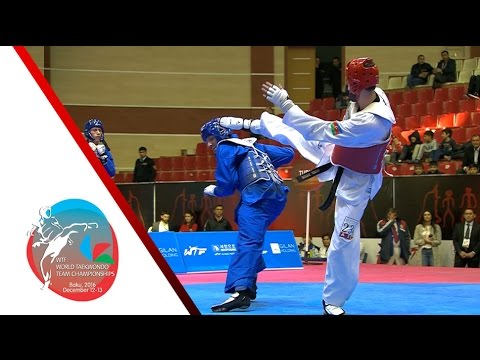 [SEMI FINAL] MALE Team | TURKEY vs. AZERBAIJAN / 2016 WTF World Taekwondo Team Championships