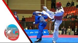 [SEMI FINAL] MALE Team   TURKEY vs. AZERBAIJAN / 2016 WTF World Taekwondo Team Championships
