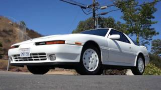 2 owner 1990 toyota supra clean 86kmi liftback for sale