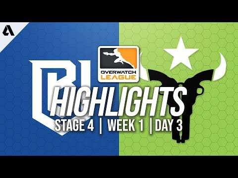 Boston Uprising vs Houston Outlaws | Overwatch League Highlights OWL Stage 4 Week 1 Day 3