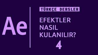 Efektler nasıl yapılır AE Türkçe dersleri 4