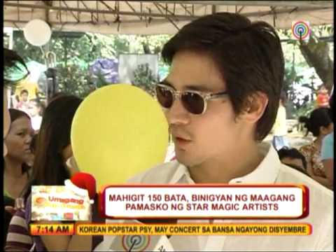 Star Magic artists give back