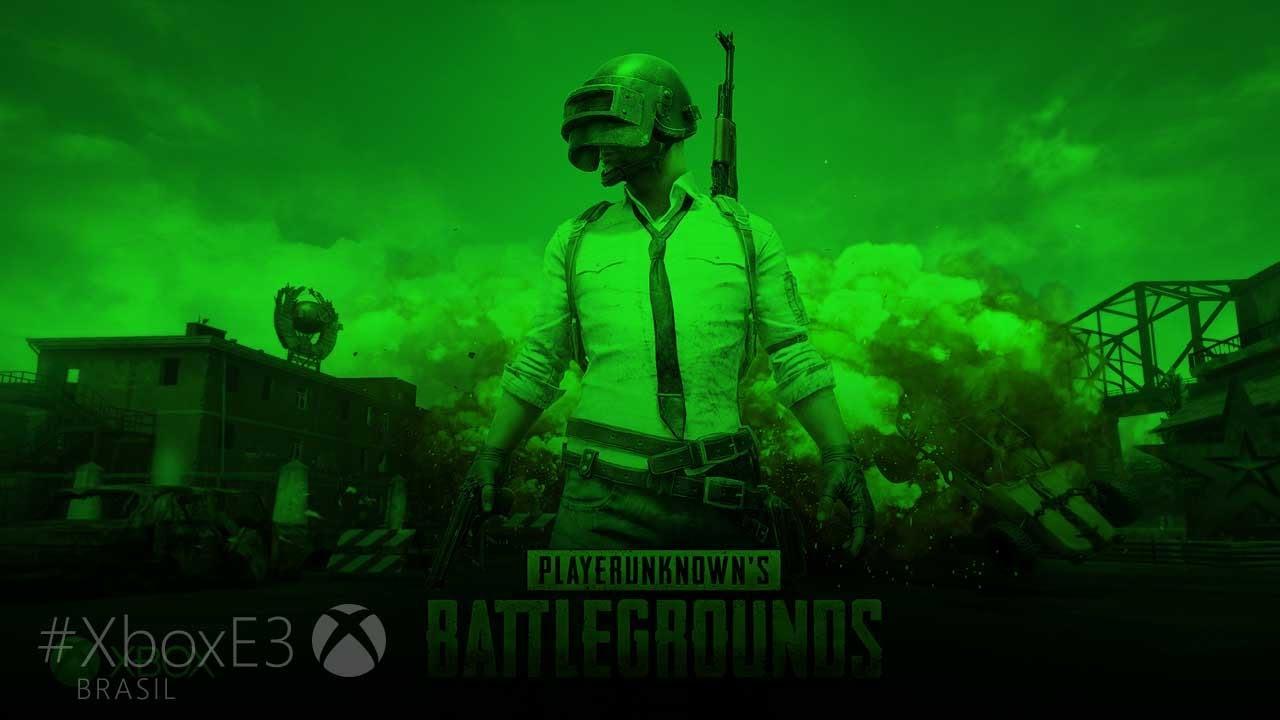 Wallpaper Playerunknown S Battlegrounds 4k E3 2017: PlayerUnknown's Battlegrounds Em Xbox One