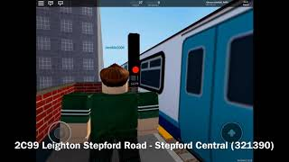 ROBLOX SCR Stepford County Railway. Trains at: Rocket Parade