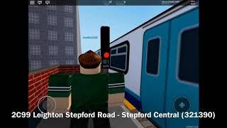 ROBLOX SCR Stepford County Railway. Züge unter: Rocket Parade