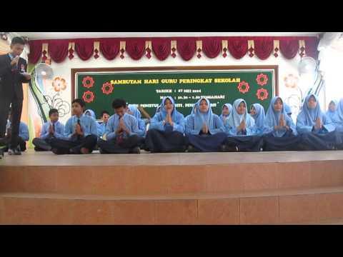 Persembahan Dikir Barat - Sambutan Hari Guru 2014 SMKS
