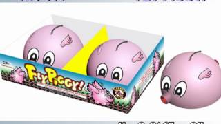 Fly Piggy Y26 011 Cannon Fireworks by Red Apple Fireworks