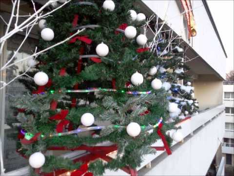 Decoration noel ile de france 2012 bernard tomassian youtube for Youtube decoration de noel