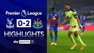 Wilson & Joelinton score late to stun Palace! | Crystal Palace 0-2 Newcastle | EPL Highlights