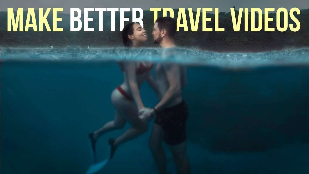 How To Make a TRAVEL VIDEO - 5 Steps to BETTER Editing