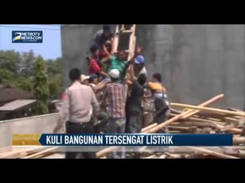 Kuli Bangunan Nyaris Tewas Tersengat Listrik Mp3