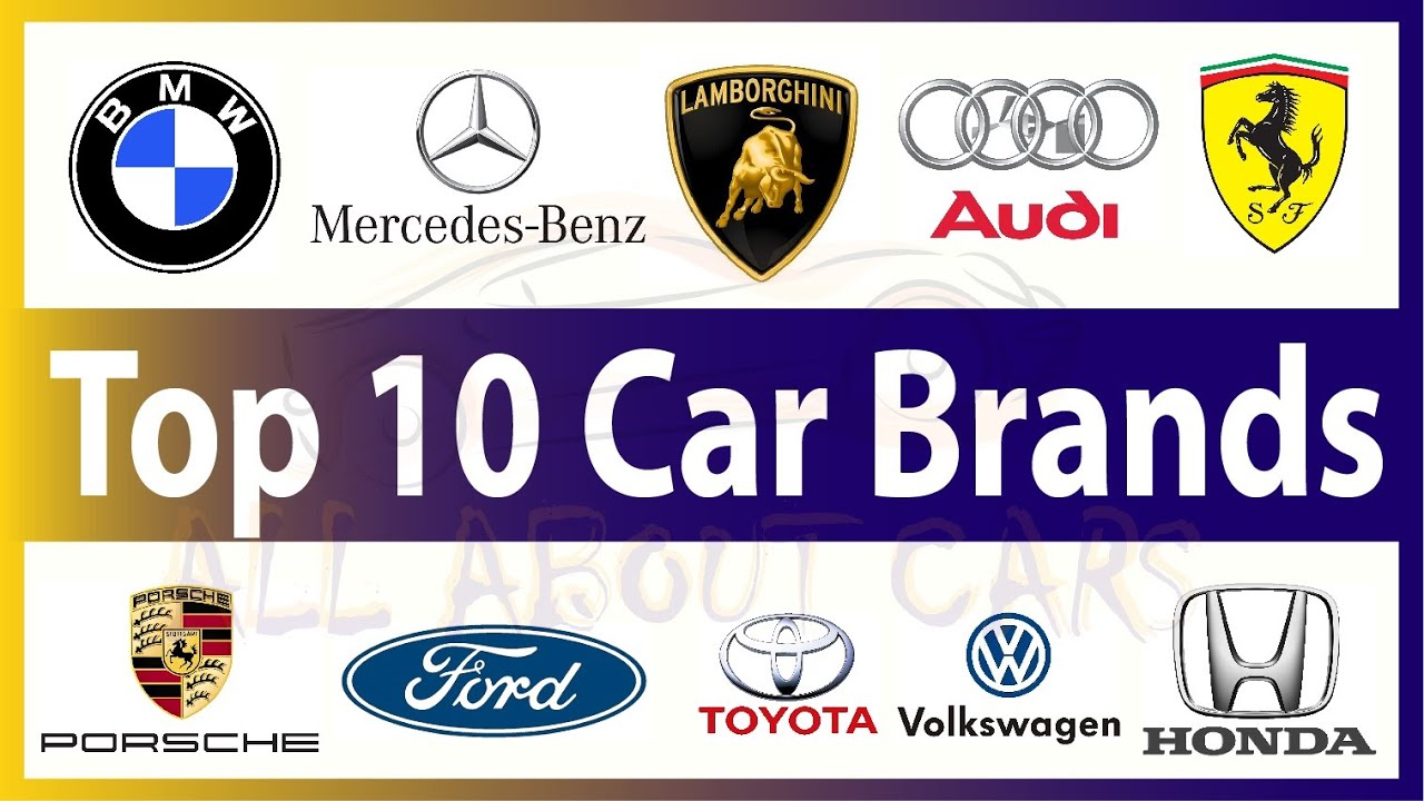 Top Cars In The World Logos The Best Car In 2017