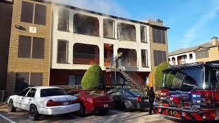 Hendrix apt building 9 fire Dec 25, 2017