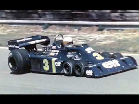 1976 Experimentos Tyrrell A 6 Ruedas Youtube