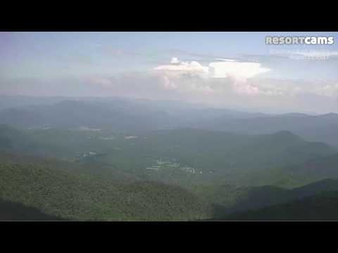Time Lapse of Eclipse at Georgia's highest point Brasstown Bald